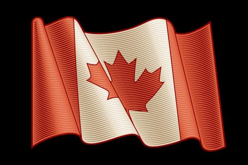 Canada flag - prime video link